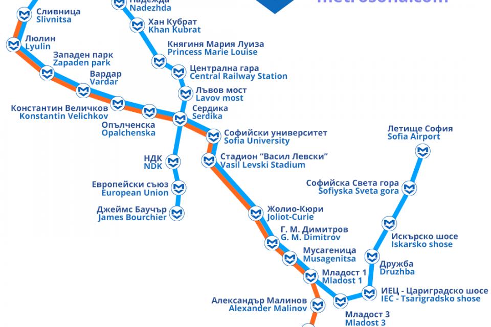 Отлагат пускането на първия участък от третата линия на метрото в София
