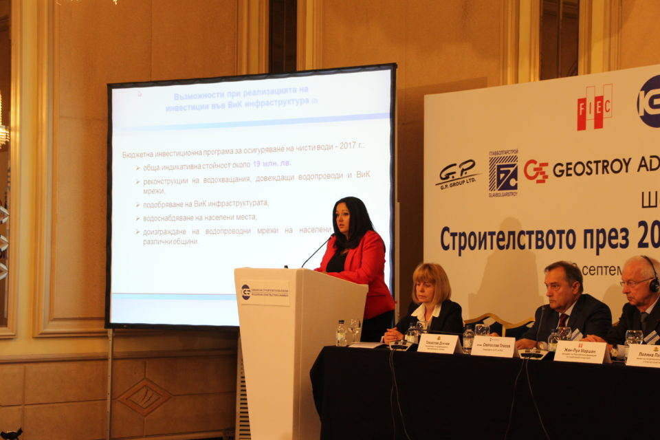 Министър Лиляна Павлова: 2017 г. ще осигури подем и много възможности за строителния сектор