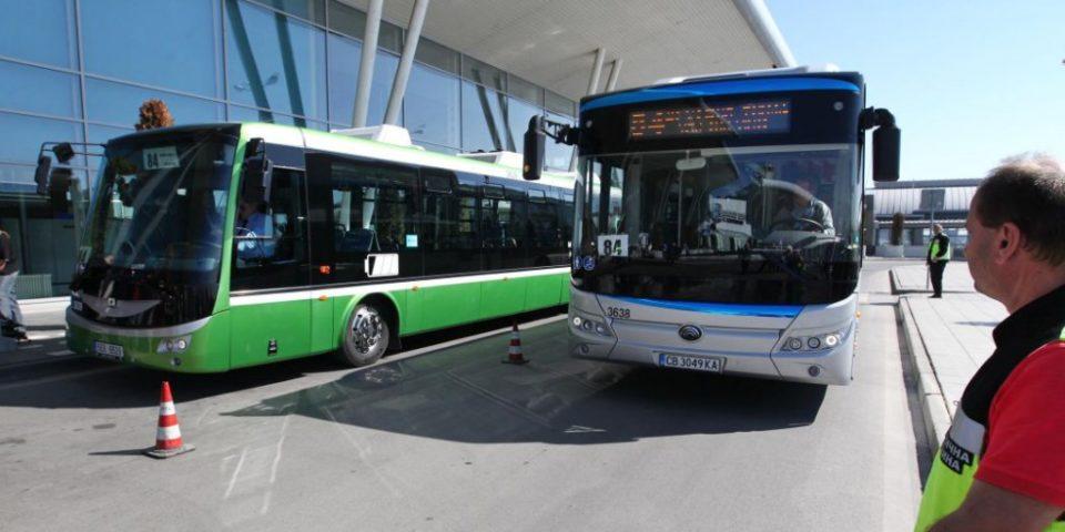 Нов електрически автобус тръгна в София