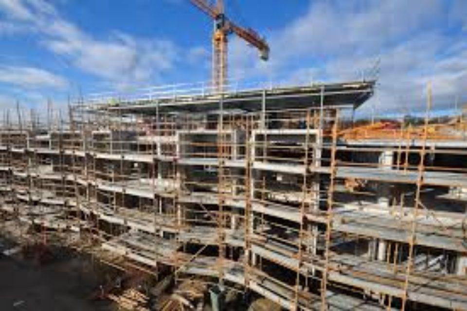 10,3% спад на строителната продукция през януари, отчете НСИ
