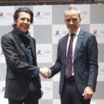 Вляво Кристоф Дюби, вдясно Паоло Ферари