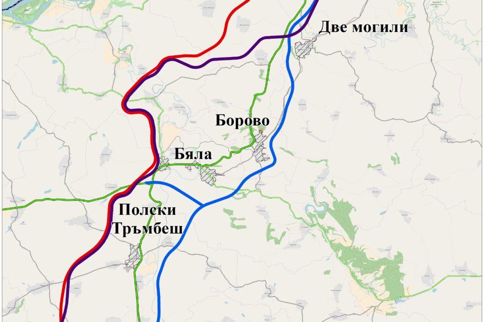 """МОСВ одобри ОВОС на проекта за автомагистрала """"Русе – Велико Търново"""""""