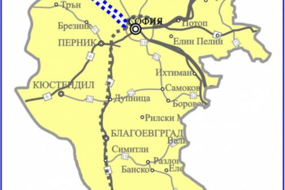 Отчуждават имоти за магистралата София-Калотина