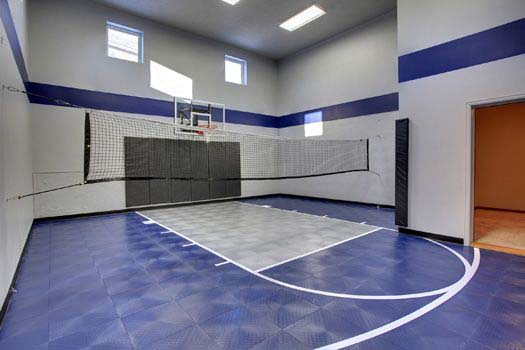 for Built in basketball court