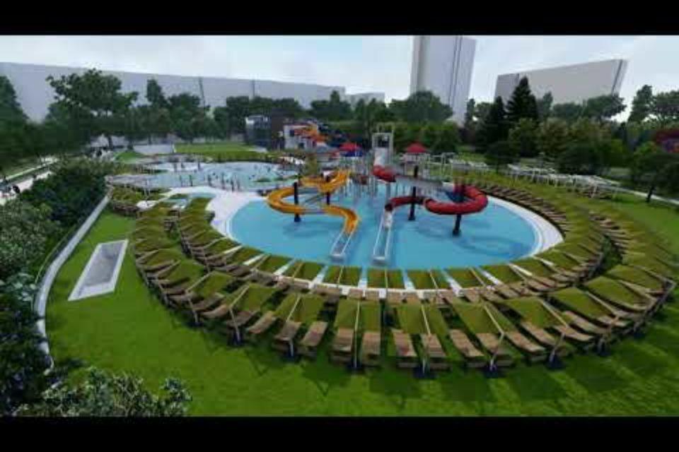 """Аквапарк и закрит басейн ще има в разширението на парк """"Възраждане"""""""