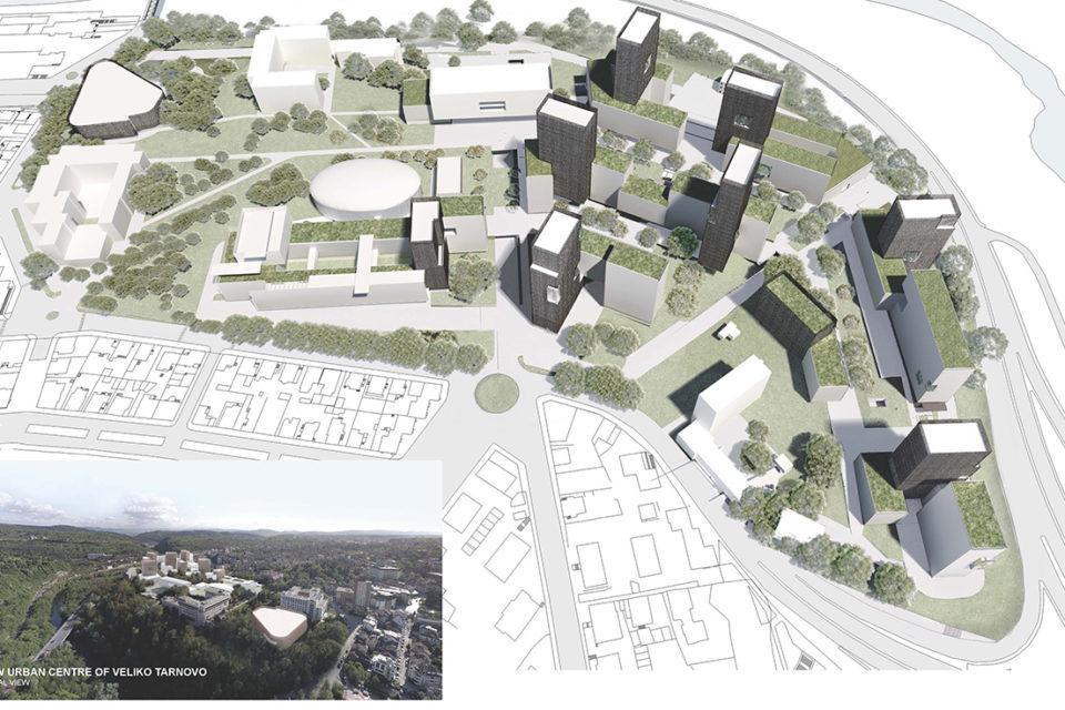 От 2019 година започва създаването на новия градски център на Велико Търново