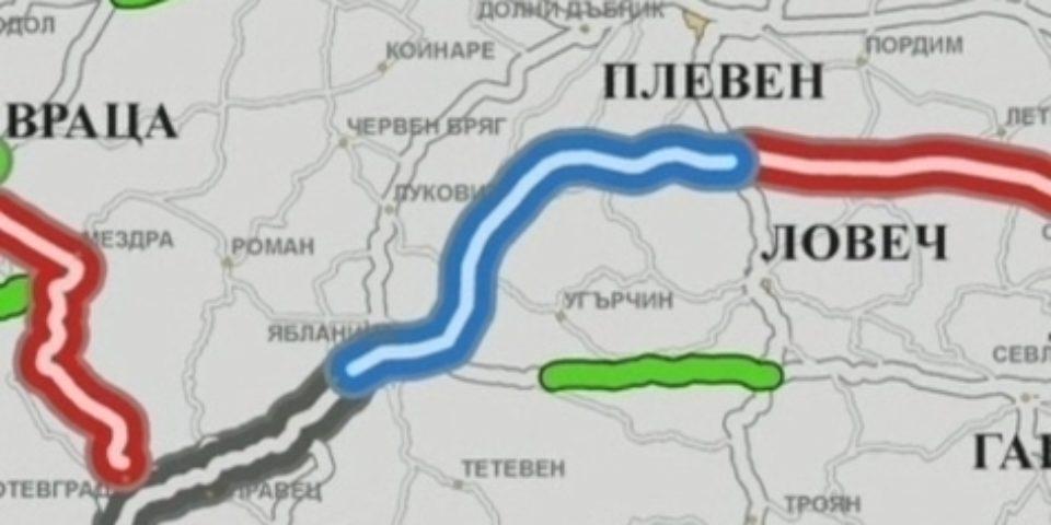 """Отпускат се близо 35 млн. лв. за изграждането на участъка на АМ """"Хемус"""" между Ябланица и Боаза"""