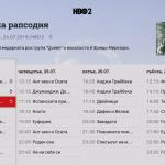 A1 Xplore TV - Channel TV Guide - Channel selected - programme