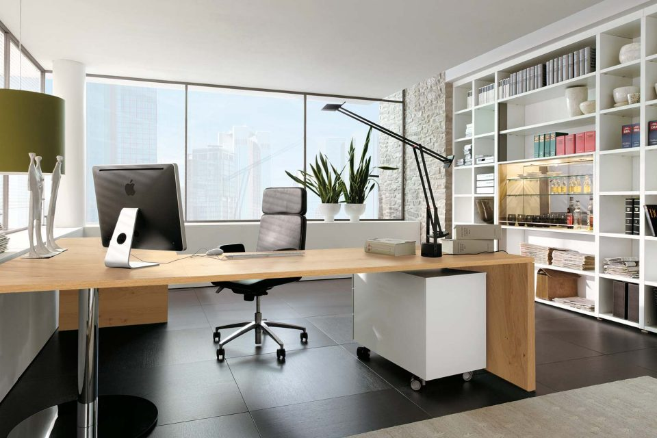 Вътрешната реорганизация на площите е съществен елемент от новата роля на офиса