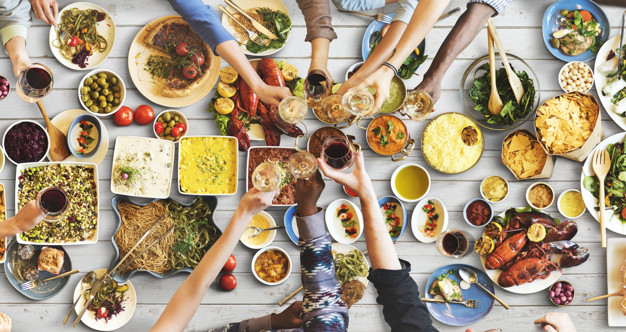 friends-happiness-enjoying-dinning-eating-concept_53876-72932